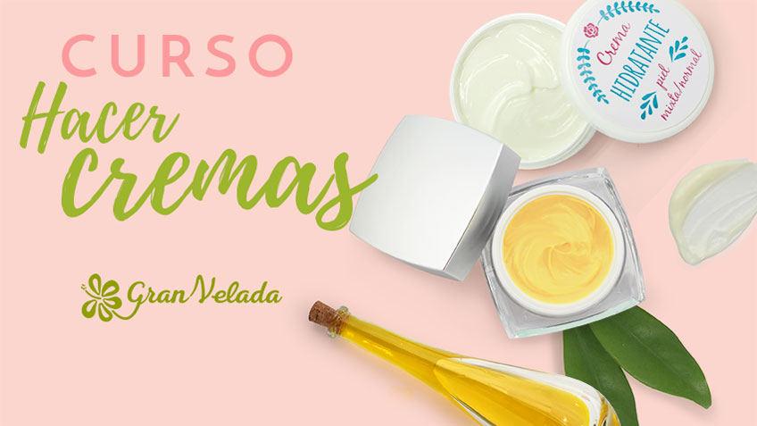 Curso gratis para aprender a hacer Cremas caseras.