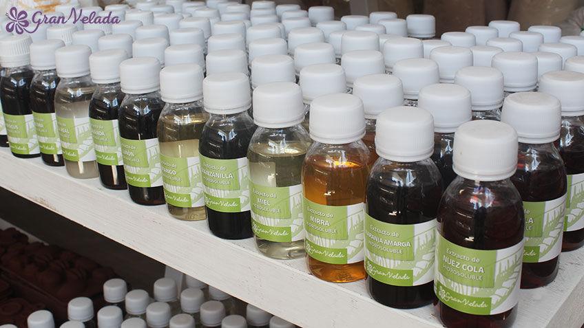Extractos cosméticos de plantas para hacer Cremas caseras.