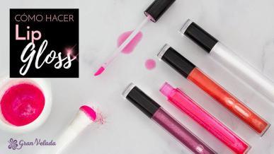 Tutorial de como hacer lip gloss en casa con vídeo