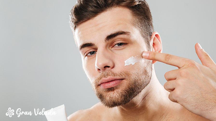La piel masculina