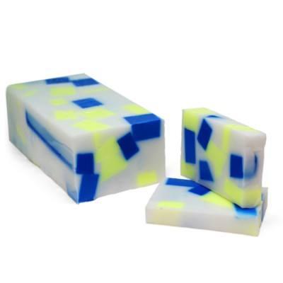 Hacer jabón barra con inclusiones