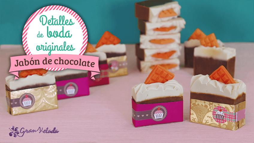 Jabon de Chocolate para bodas