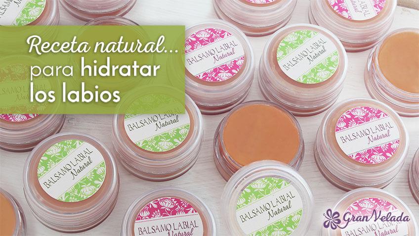 Balsamo natural para labios