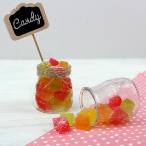 Tarros para candy bar y fiestas DIY