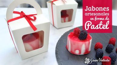 Tutorial para hacer jabones para bodas con forma de pastel caseros para detalles de boda