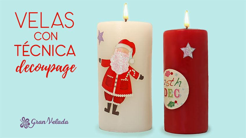 Tutorial para hacer decoracion navideña de velas en casa personalizadas