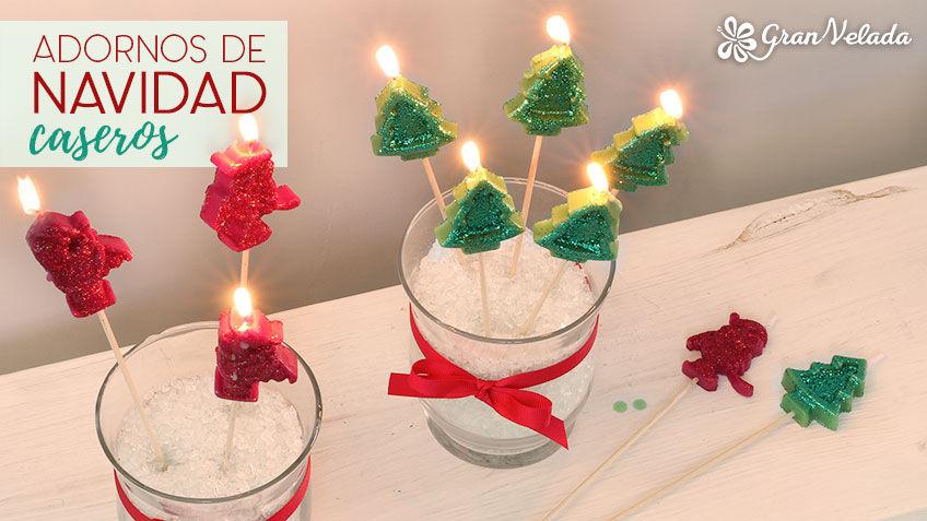 Adornos de navidad caseros econ micos hechos en casa - Detalles navidenos caseros ...