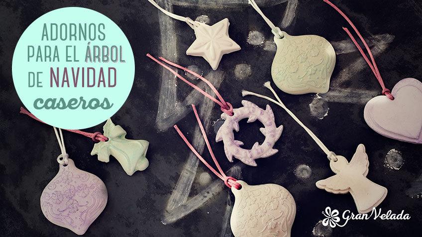 Adornos para el arbol de navidad hechos en casa faciles y - Adornos navidenos caseros para el arbol ...