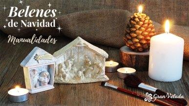 Tutorial de como hacer belenes de Navidad en casa de resina.