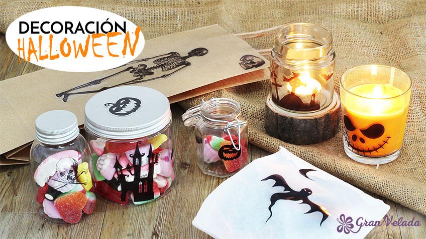 Tutorial con 3 ideas de decoracion Halloween caseras.