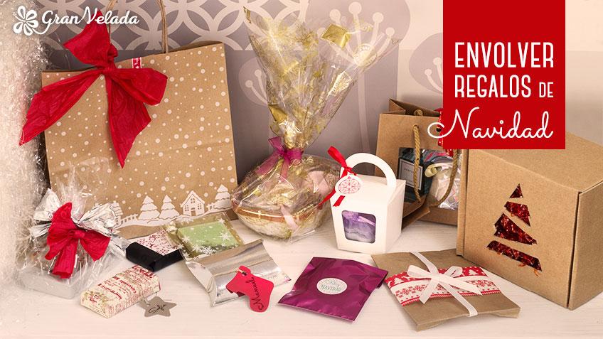 Ideas para envolver regalos de Navidad de una forma casera y económica.