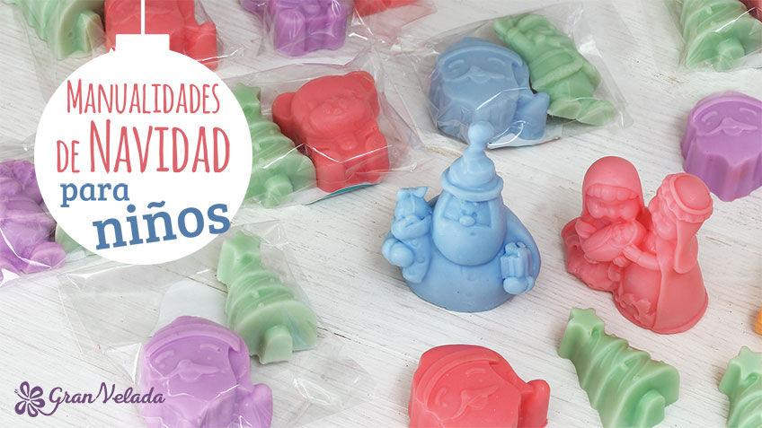 Manualidades De Navidad Para Ninos En Casa Con Jabon - Videos-de-manualidades-para-navidad