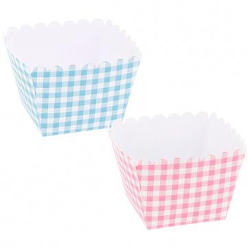 Cupcakes cuadrados