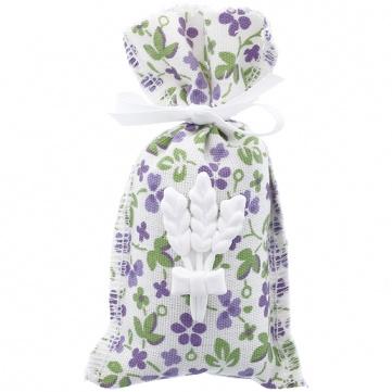 Saquitos de lavanda con flores