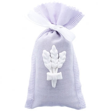 Saquitos de lavanda lilas