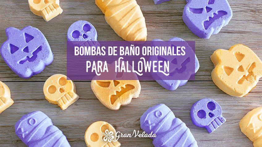 Bombas de baño originales para Halloween