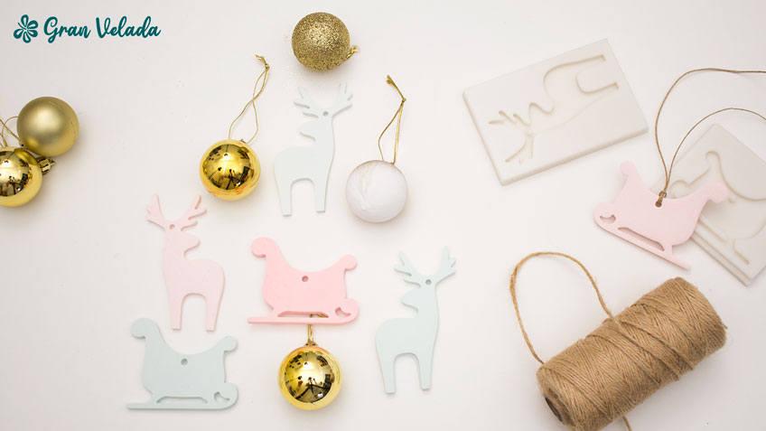 Hacer figuras para el arbol de Navidad