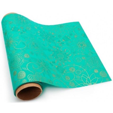 Envoltorio para regalo verde