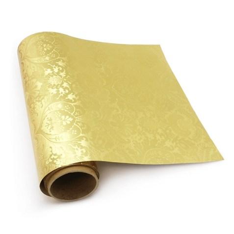 Papel de regalo dorado