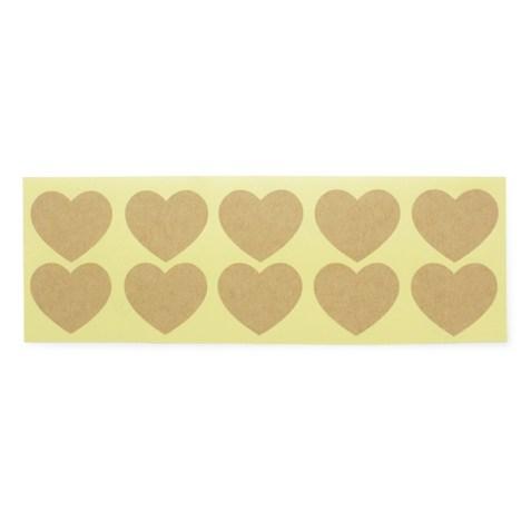 Corazones dorados