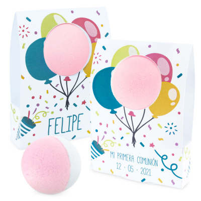 Cajitas de globos