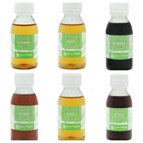 Extractos de plantas para jabon de Glicerina