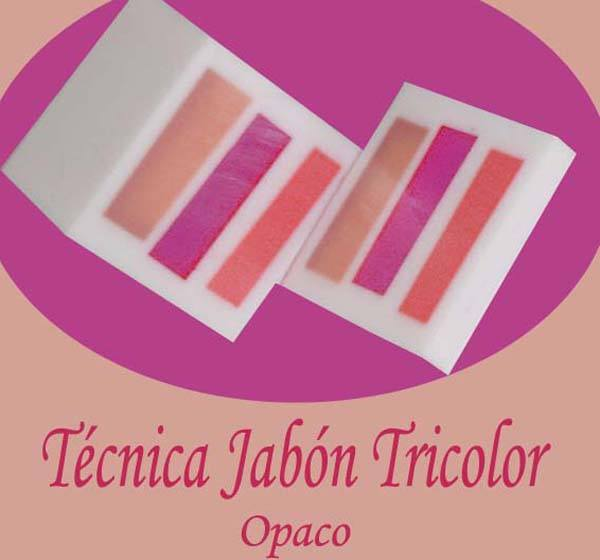 Hacer jabon tricolor opaco, tutorial paso a paso