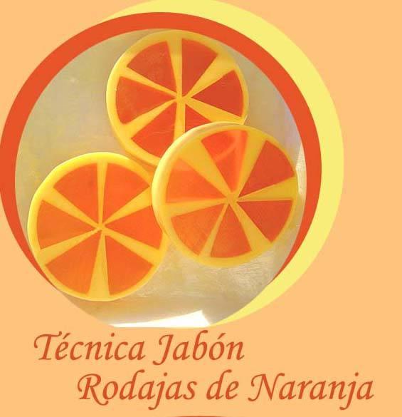 hacer jabon de rodaja de Naranja