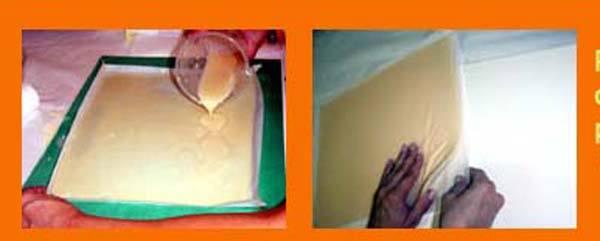 Paso 2 Hacer jabon de tarta de Merengue