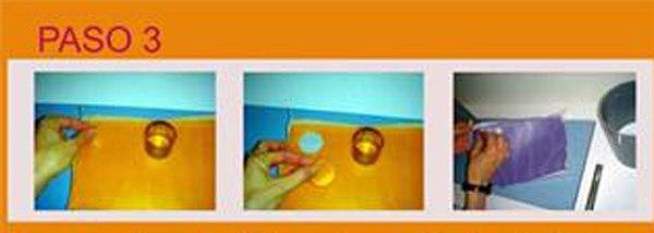 Paso 3 Hacer velas con inclusiones