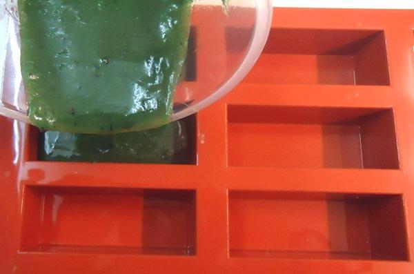 Hacer jabón de Alga Fucus Paso 6