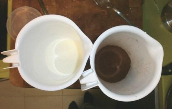 Hacer jabon de Aceite de Chocolate.