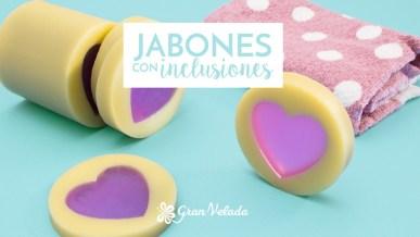 Jabones con inclusiones