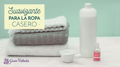 Como prepara en casa tu propio suavizante para la ropa con tu aroma preferido con vídeo y paso a paso