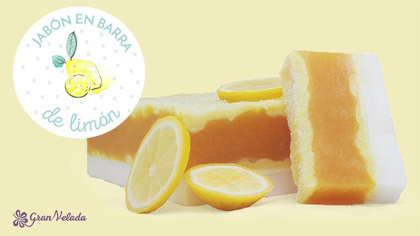 Hacer jabon de limon casero