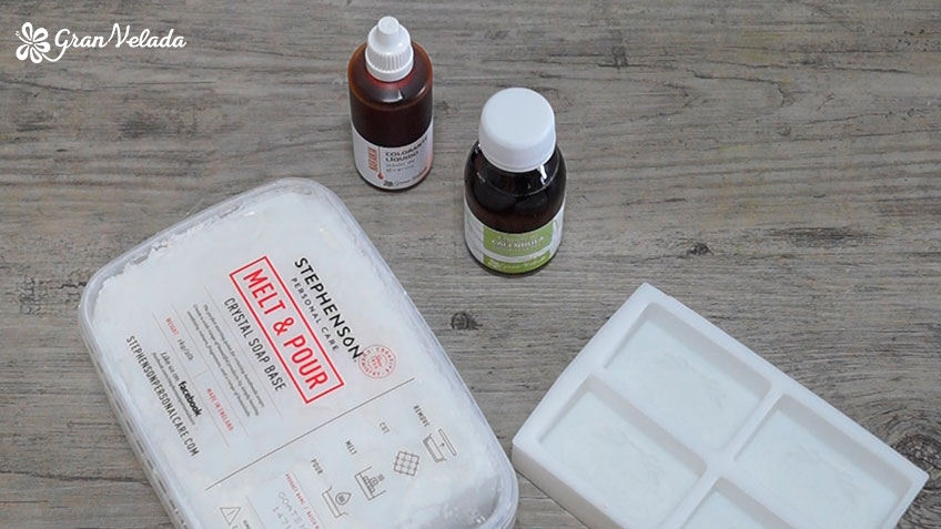 Ingredientes para hacer jabon de calendula