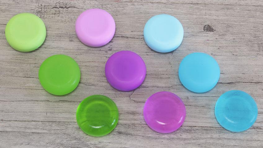 Jabon de colores casero tutorial