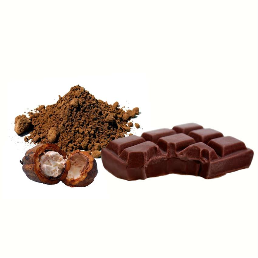 Cómo hacer jabón de cacao con forma de tableta de chocolate