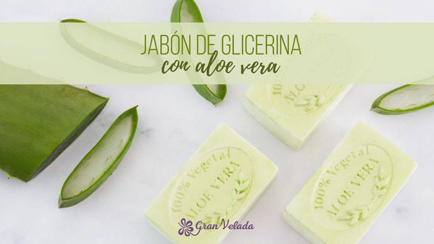 Recta para aprender hacer Jabon de glicerina con aloe vera en casa con vídeo y paso a paso