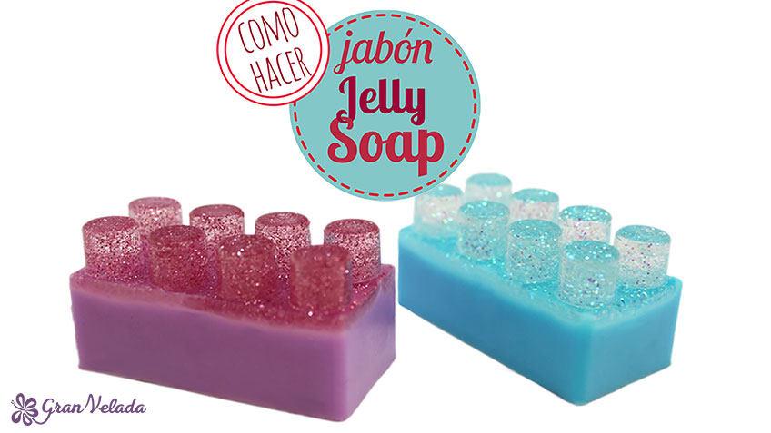 Hacer jabon jelly soap