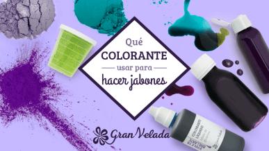 Colorantes para jabones, cuál es mejor utilizar