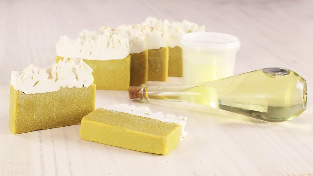 Jabón con azufre bio para el acné