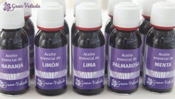 Aceites esenciales para jabon de Glicerina.