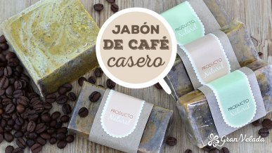 Tutorial para hacer jabon natural de cafe con vídeo.
