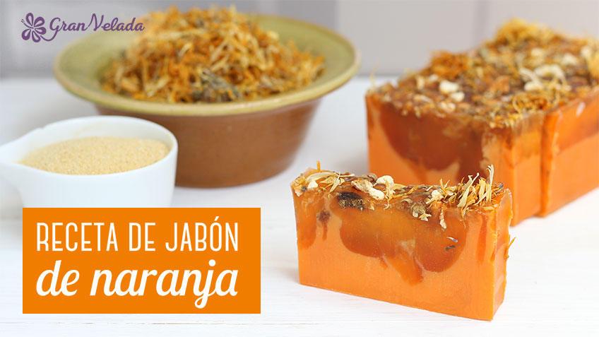 Hacer jabon de naranja y calendula casero
