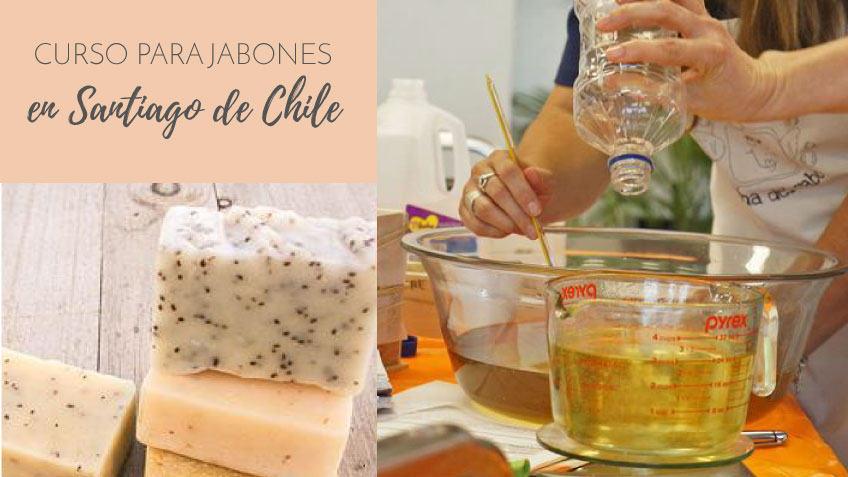 Jornadas de formacion profesional en Jaboneria Natural Artesanal en Santiago de Chile