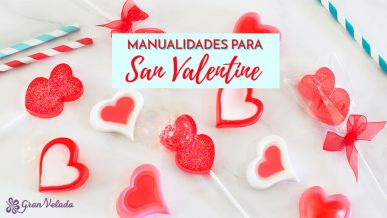 Tutorial con vídeo para hacer manualidades para San Valentin en casa