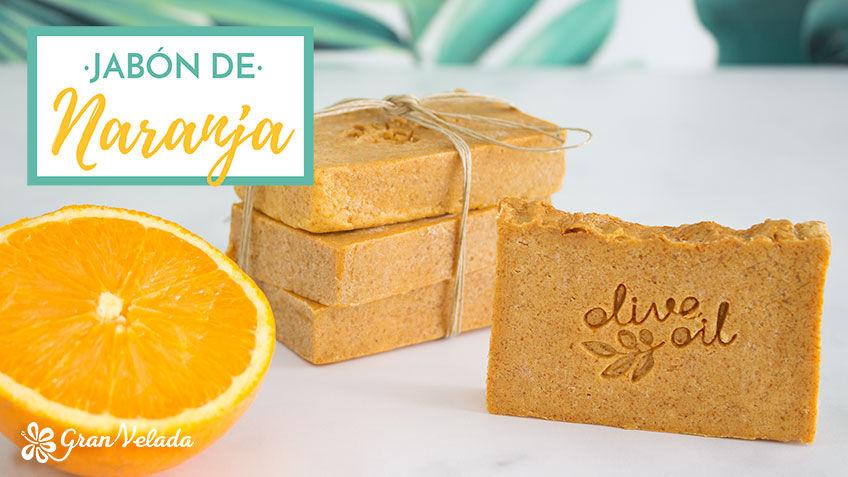 Jabon de naranja artesanal