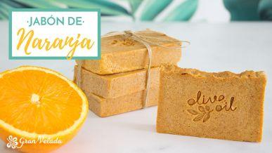 Tutorial para hacer Jabon de naranja artesanal con vídeo y paso a paso