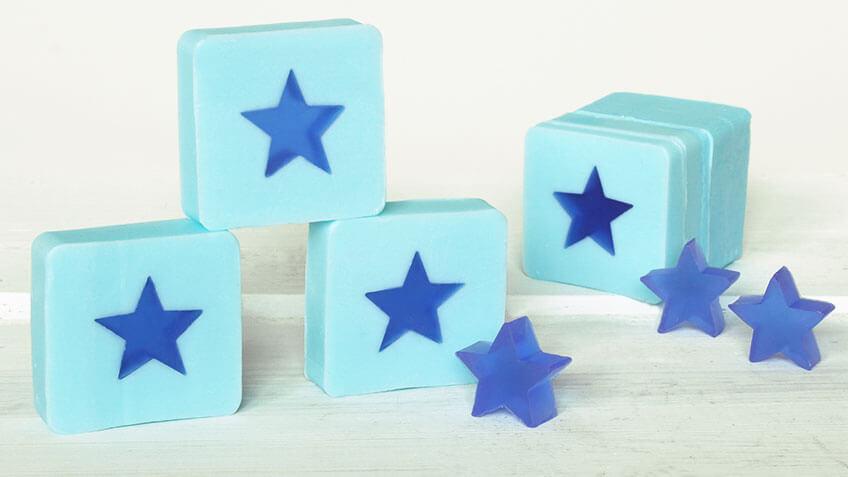 Jabones con estrellas